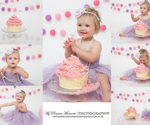 Cake smash photography Canberra