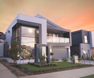 house outside real estate photography