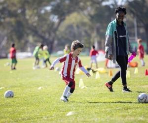 soccer trening sports photography